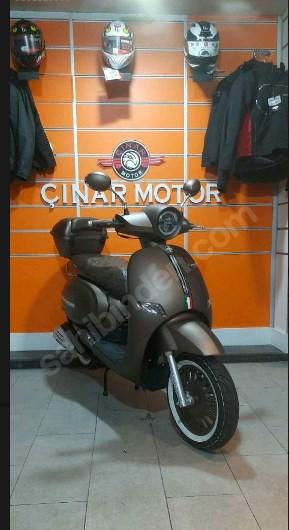 Arora AR 50 Capuccino 2021 Model Sıfır Kilometre Senetle Motorsiklet Kahverengi 9