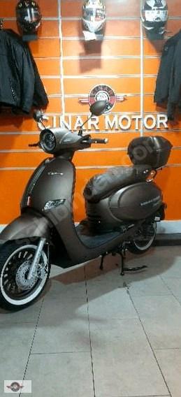 Arora AR 50 Cappucino 2020 Model Sıfır Kilometre Senetle Motosiklet Çift Renk 3