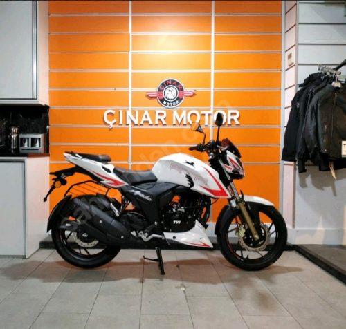 TVS Apache RTR 200 2020 Model Sıfır Kilometre Senetle Motosiklet 1