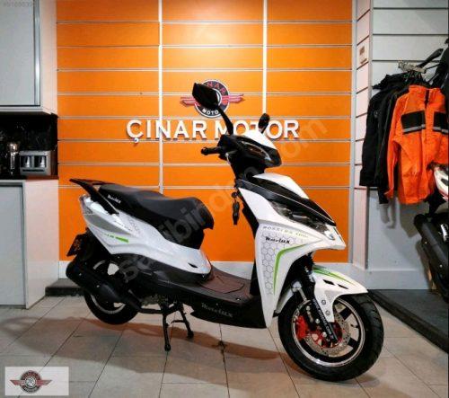 Motolux Rossi Rs 2021 Model Sıfır Kilometre Senetle Motosiklet Beyaz 6