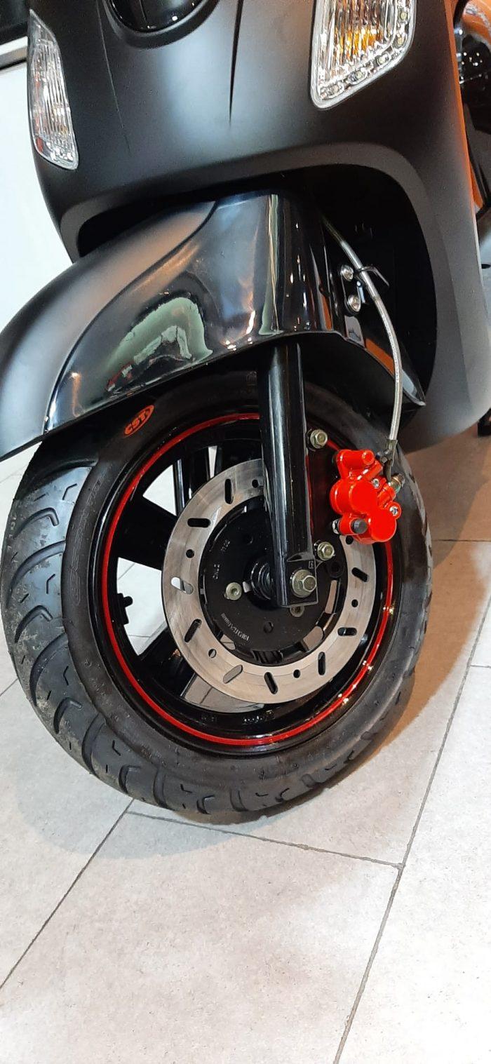 SYM Fiddle III 125 2021 Model Sıfır Kilometre Senetle Motosiklet Siyah 9