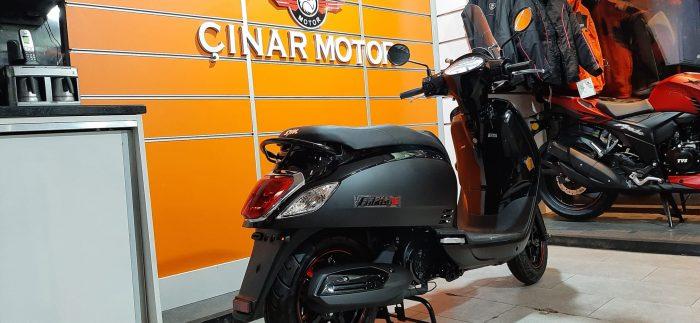 SYM Fiddle III 125 2021 Model Sıfır Kilometre Senetle Motosiklet Siyah 8