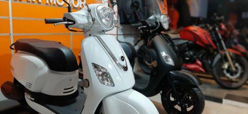 SYM Fiddle III 125 2021 Model Sıfır Kilometre Senetle Motosiklet Beyaz 2
