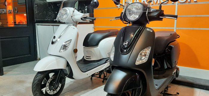 SYM Fiddle III 125 2021 Model Sıfır Kilometre Senetle Motosiklet Beyaz 14