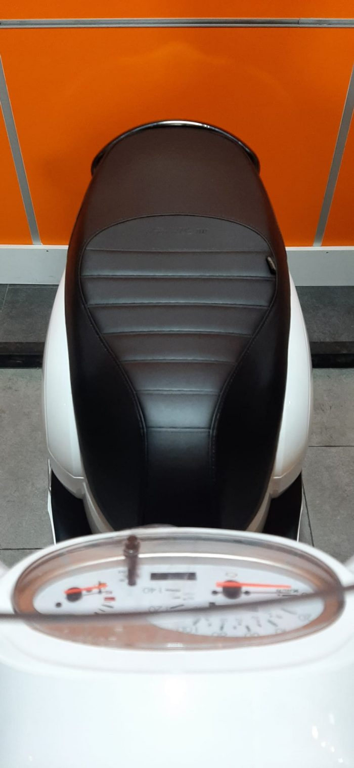 SYM Fiddle III 125 2021 Model Sıfır Kilometre Senetle Motosiklet Beyaz 11