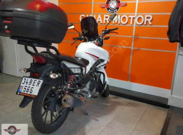 Honda CB 125 2018 Model İkinci El Senetle Motosiklet 2