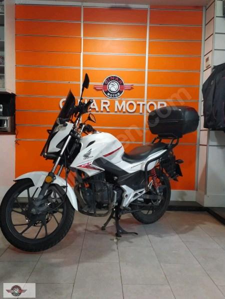Honda CB 125 2018 Model İkinci El Senetle Motosiklet 4