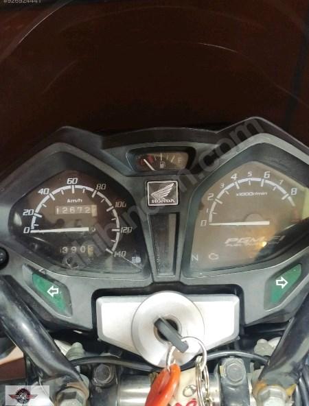 Honda CB 125 2018 Model İkinci El Senetle Motosiklet 5