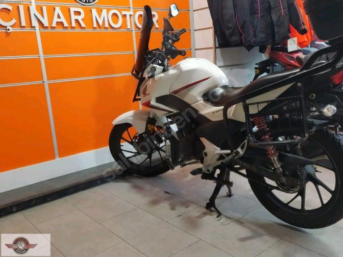 Honda CB 125 2018 Model İkinci El Senetle Motosiklet 7