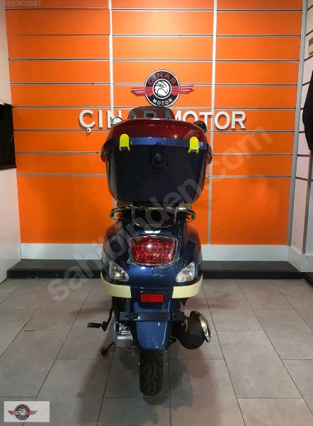 Falcon Copper 50 2021 Model Sıfır Kilometre Senetle Motosiklet 4