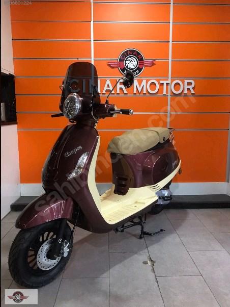Falcon Copper 50 2021 Model Sıfır Kilometre Senetle Motosiklet Kahverengi 4