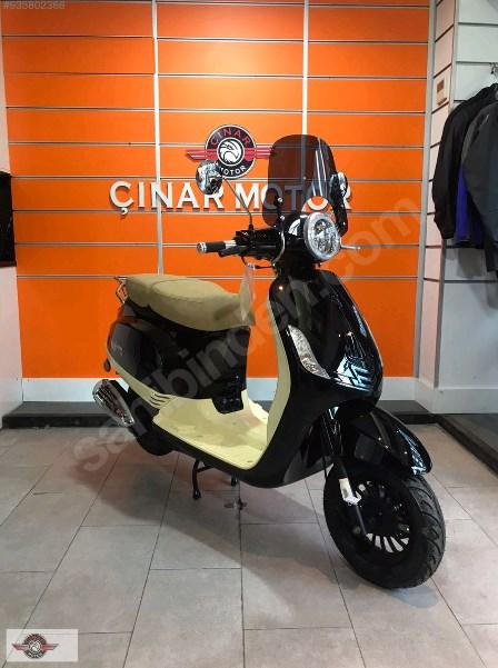 Falcon Copper 50 2021 Model Sıfır Kilometre Senetle Motosiklet Siyah 6