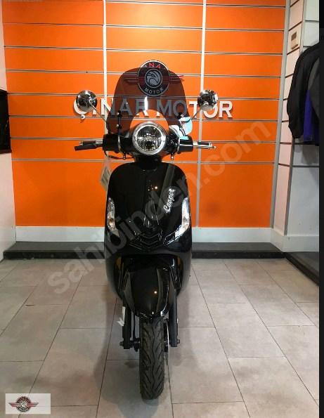 Falcon Copper 50 2021 Model Sıfır Kilometre Senetle Motosiklet Siyah 5