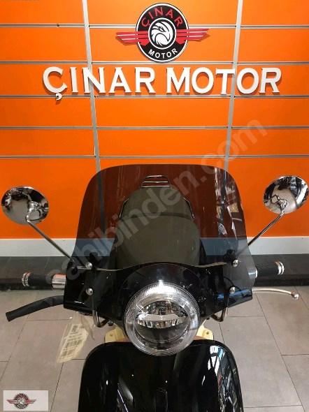 Falcon Copper 50 2021 Model Sıfır Kilometre Senetle Motosiklet Siyah 4