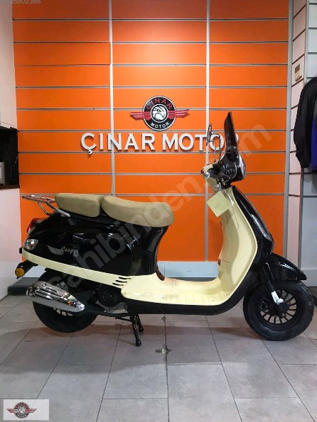 Falcon Copper 50 2021 Model Sıfır Kilometre Senetle Motosiklet Siyah 3