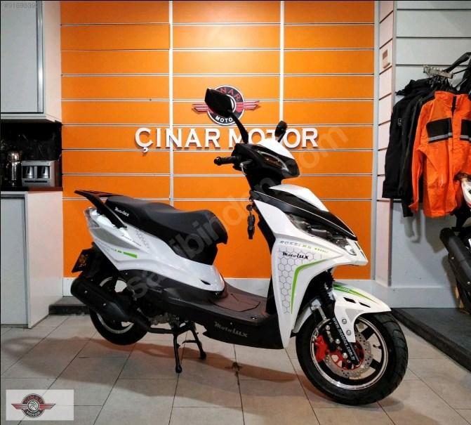Motolux Rossi Rs 2021 Model Sıfır Kilometre Senetle Motosiklet Beyaz 1
