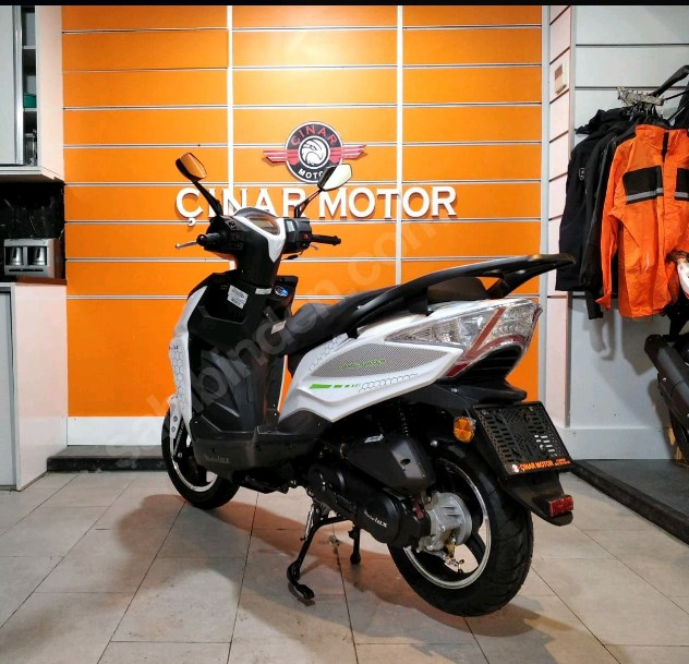 Motolux Rossi Rs 2021 Model Sıfır Kilometre Senetle Motosiklet Beyaz 4