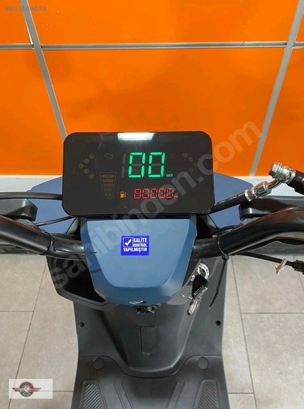 Falcon Techno 50 2021 Model Sıfır Kilometre Senetle Motosiklet Mavi 3