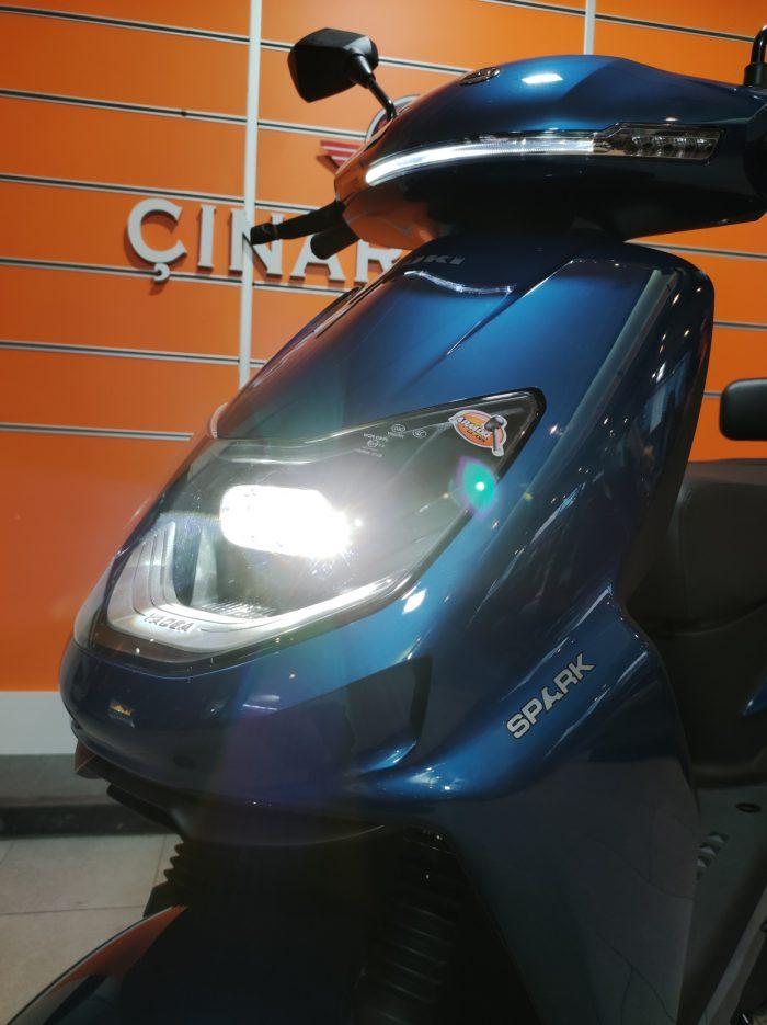 Yuki YK-50 Spark 2021 Model Sıfır Kilometre 2100 W Elektrikli 4