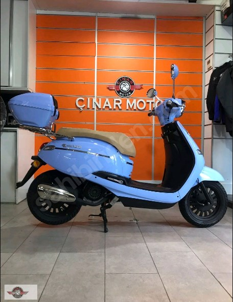 Kanuni Visal 125 2021 Model Sıfır Kilometre Senetle Motorsiklet 1
