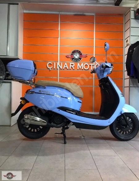 Kanuni Visal 125 2021 Model Sıfır Kilometre Senetle Motorsiklet 3