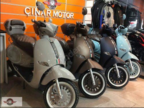 Arora Cappucino 125 2021 Model Motor Sıfır kilometre Senetle Motosiklet Gri 11