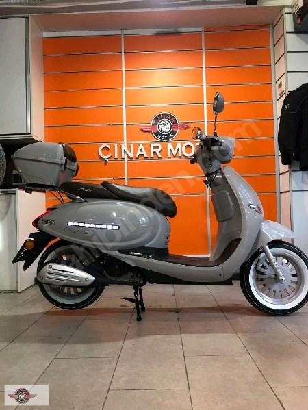 Arora AR 50 Cappucino 2021 Model Sıfır Kilometre Senetle Motosiklet Gri 6