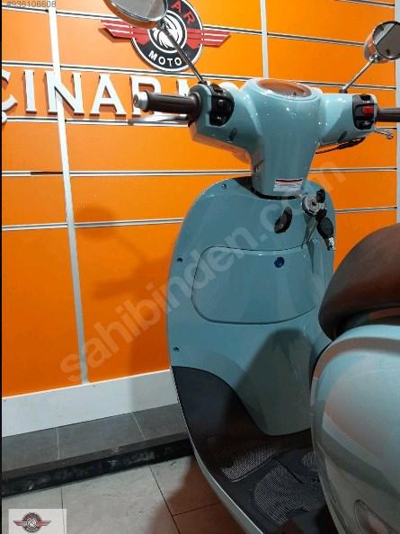 Arora AR 50 Cappucino 2021 Model Sıfır Kilometre Senetle Motosiklet Mavi 5