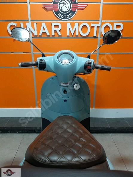 Arora AR 50 Cappucino 2021 Model Sıfır Kilometre Senetle Motosiklet Mavi 4