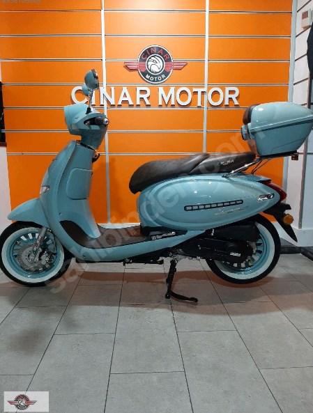 Arora AR 50 Cappucino 2021 Model Sıfır Kilometre Senetle Motosiklet Mavi 3