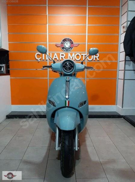Arora AR 50 Cappucino 2021 Model Sıfır Kilometre Senetle Motosiklet Mavi 10