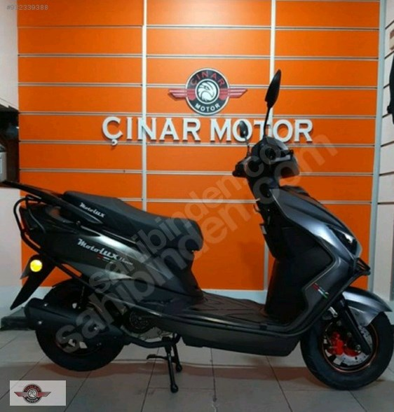 Motolux Nirvana 50 2021 Model Sıfır Kilometre Senetle Motosiklet 6