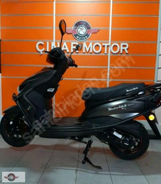 Motolux Nirvana 50 2021 Model Sıfır Kilometre Senetle Motosiklet 5