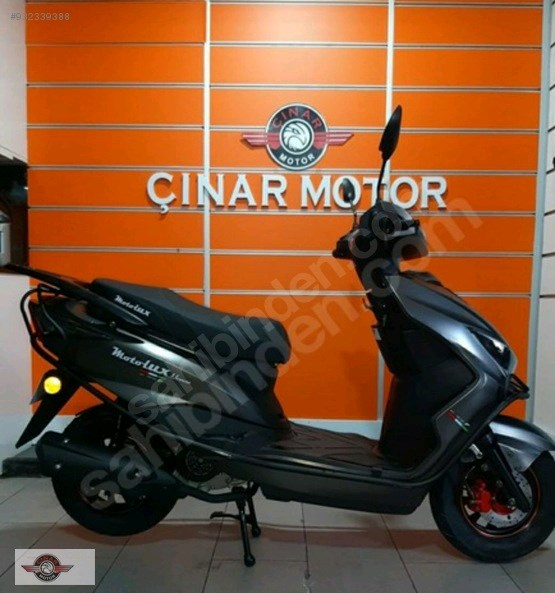 Motolux Nirvana 50 2021 Model Sıfır Kilometre Senetle Motosiklet 1