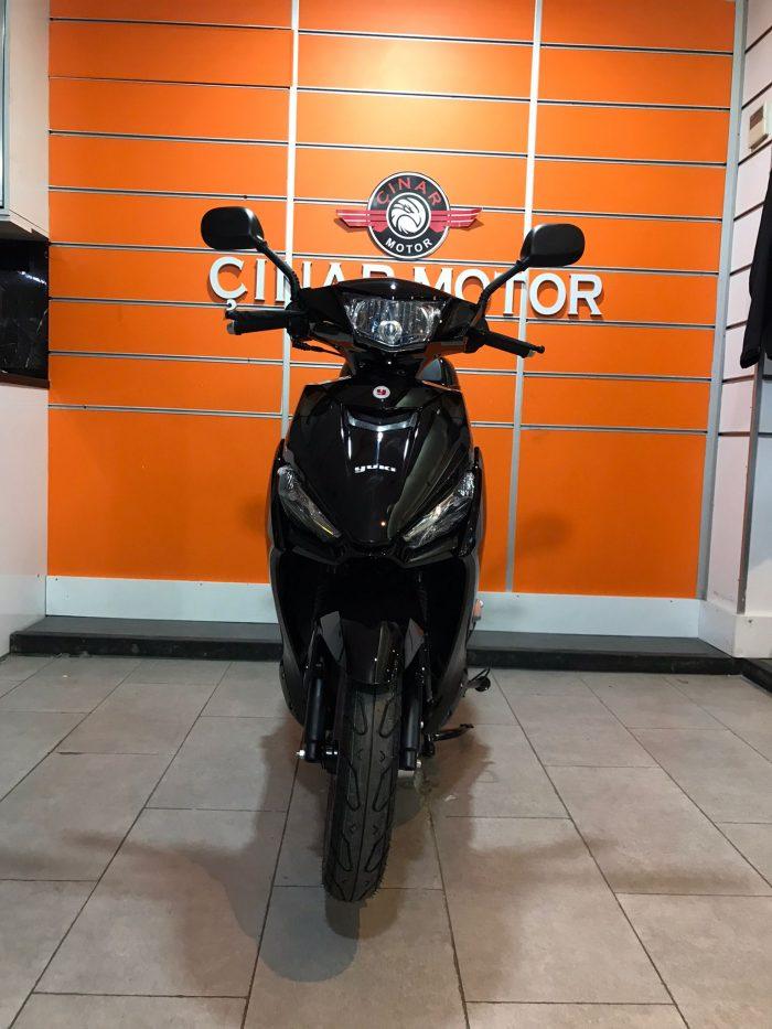 Yuki YB50QT-3 Casper 2021 Model Sıfır Kilometre Senetle Motosiklet 1