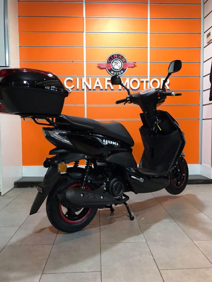 Yuki YB50QT-3 Casper 2021 Model Sıfır Kilometre Senetle Motosiklet 3