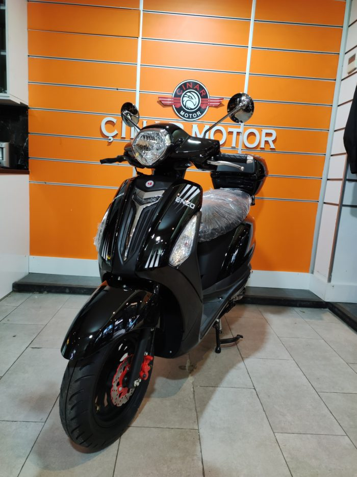 Yuki Enzo 50 2021 Model Sıfır Kilometre Senetle Motosiklet 14