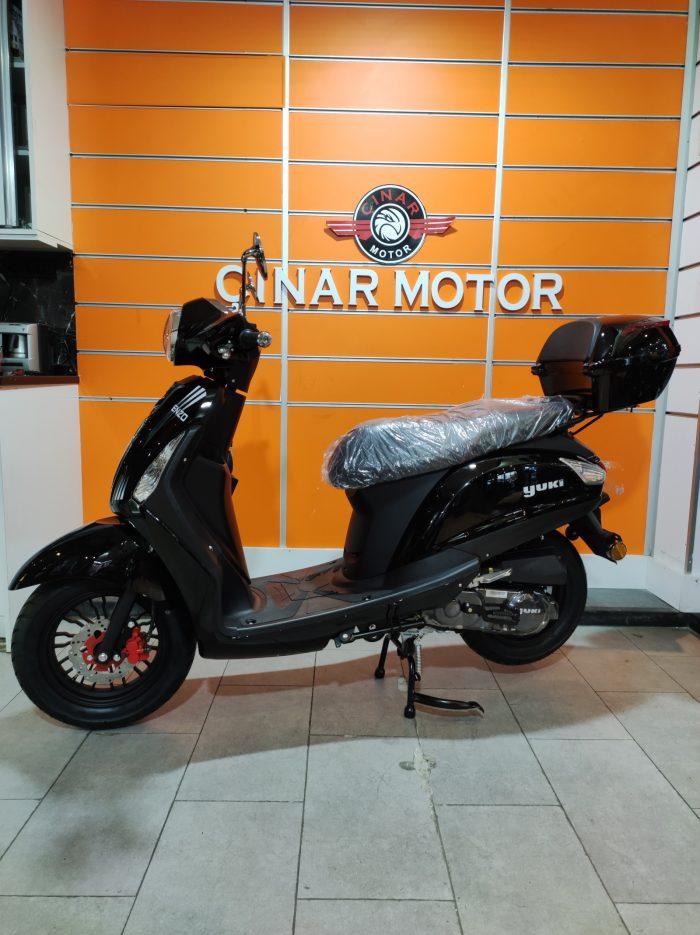 Yuki Enzo 50 2021 Model Sıfır Kilometre Senetle Motosiklet 13