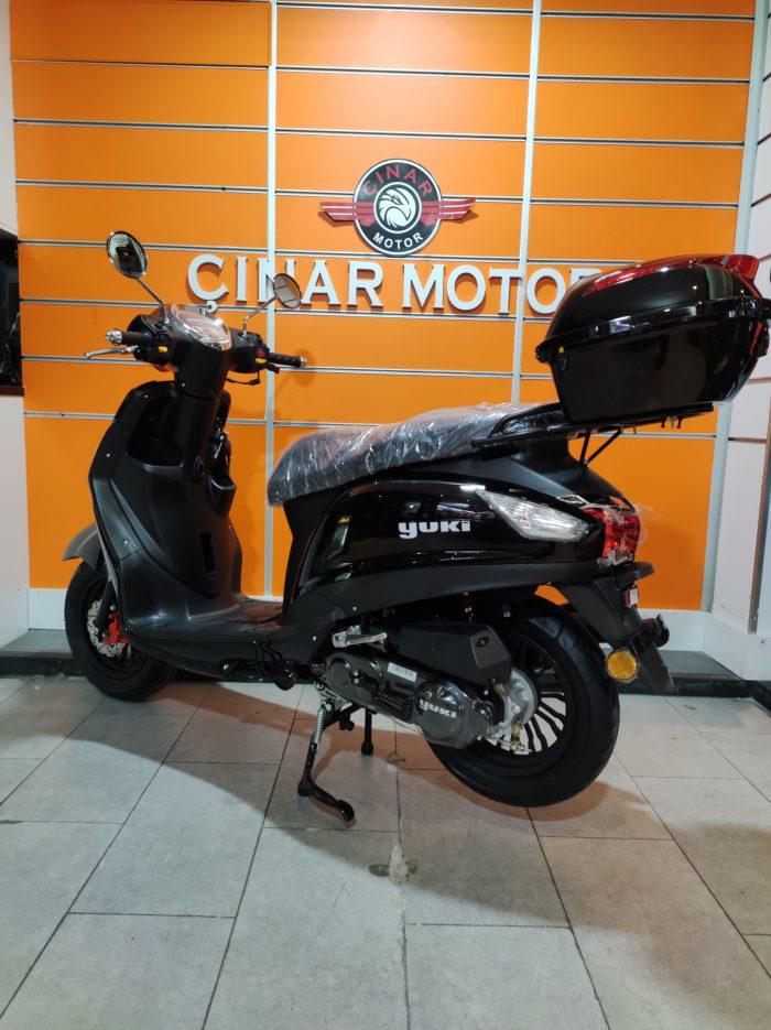 Yuki Enzo 50 2021 Model Sıfır Kilometre Senetle Motosiklet 12