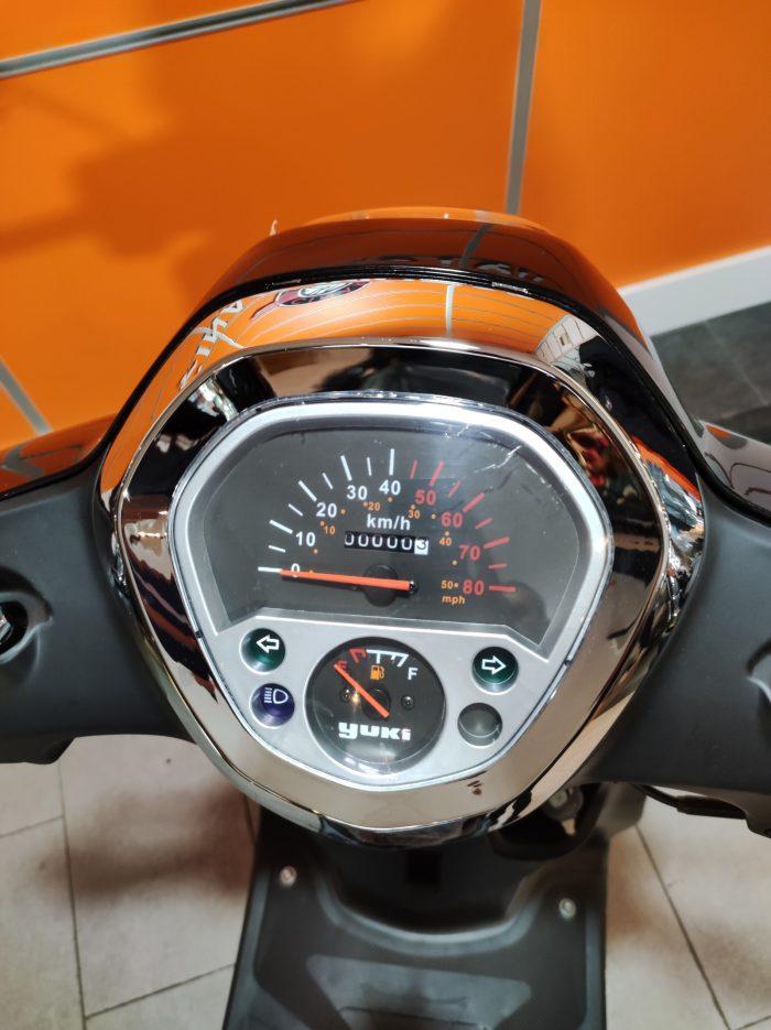 Yuki Enzo 50 2021 Model Sıfır Kilometre Senetle Motosiklet 7