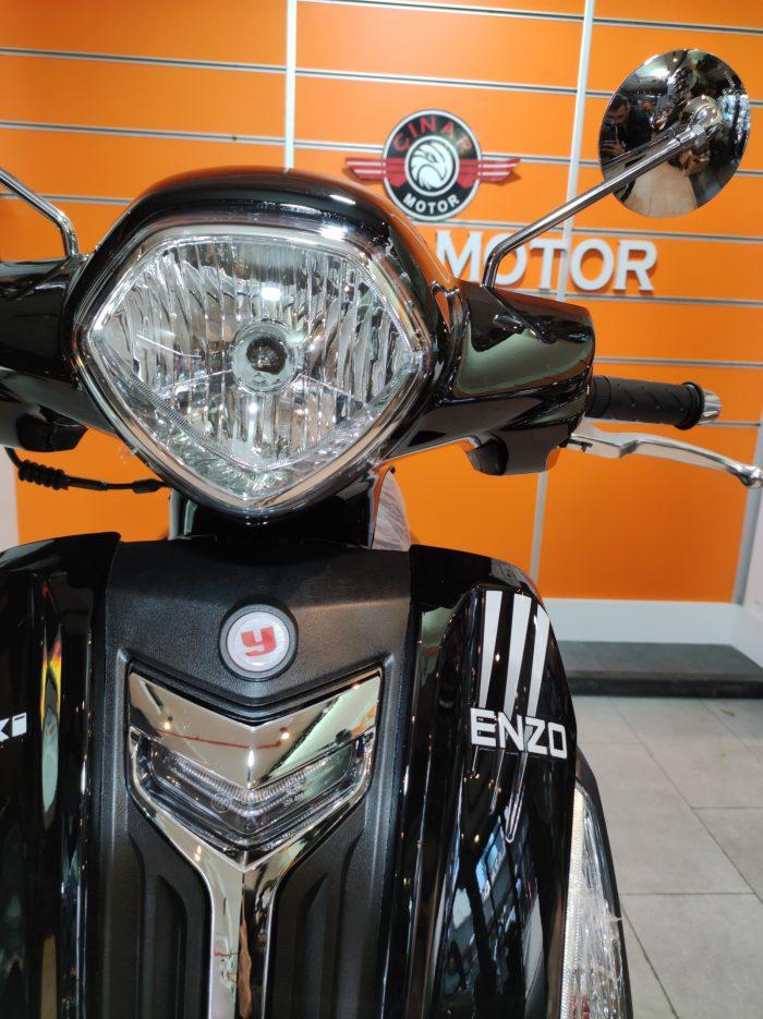 Yuki Enzo 50 2021 Model Sıfır Kilometre Senetle Motosiklet 6
