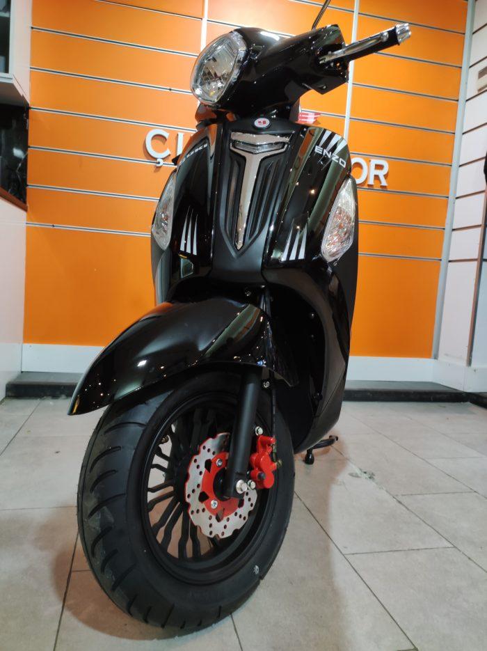 Yuki Enzo 50 2021 Model Sıfır Kilometre Senetle Motosiklet 5