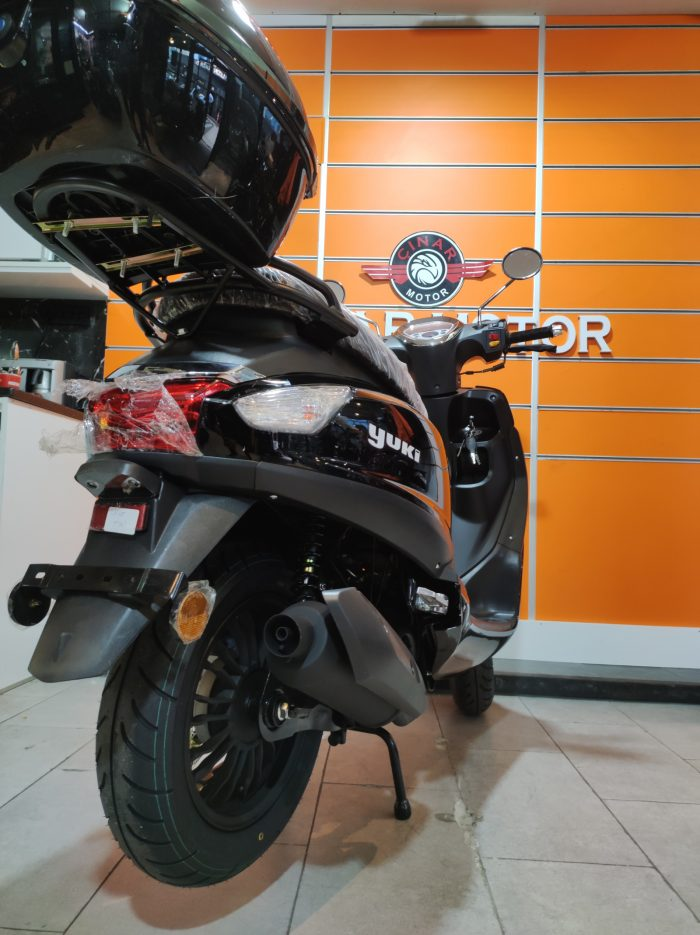 Yuki Enzo 50 2021 Model Sıfır Kilometre Senetle Motosiklet 4