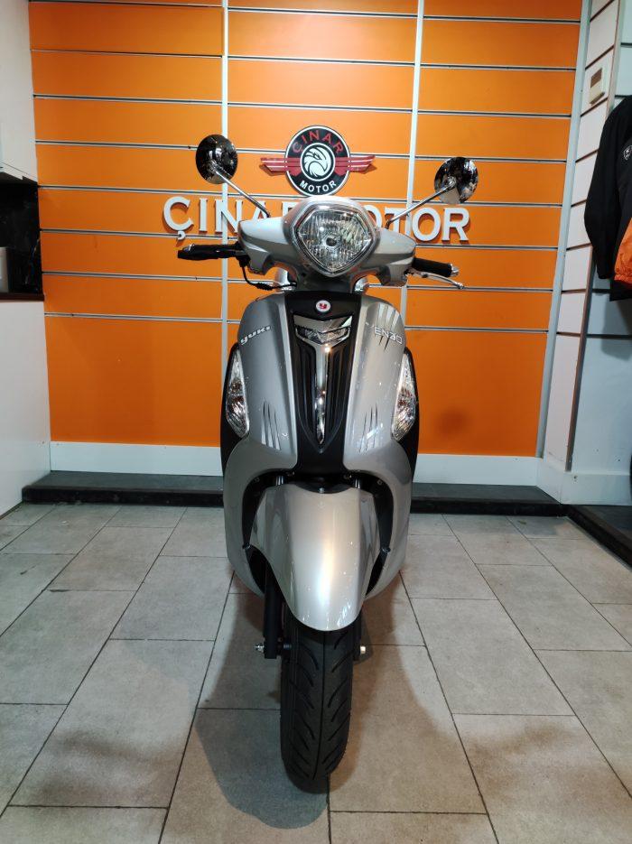 Yuki Enzo 50 2021 Model Sıfır Kilometre Senetle Motosiklet 2