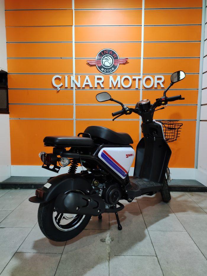 Yuki QM50QT-6E Snoopy 2021 Model Sıfır Kilometre Senetle Motosiklet 4