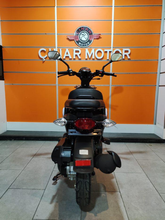 Yuki QM50QT-6E Snoopy 2021 Model Sıfır Kilometre Senetle Motosiklet 7