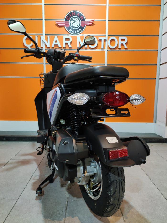 Yuki QM50QT-6E Snoopy 2021 Model Sıfır Kilometre Senetle Motosiklet 8