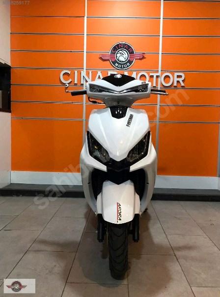 Arora Freedom 125 2021 Model Sıfır Kilometre Senetle Motosiklet 8