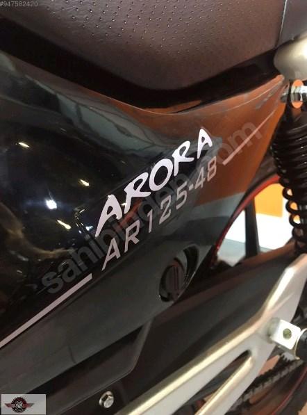 Arora AR 125-48 Yebere 2021 Model Sıfır Kilometre Senetle Motosiklet 6