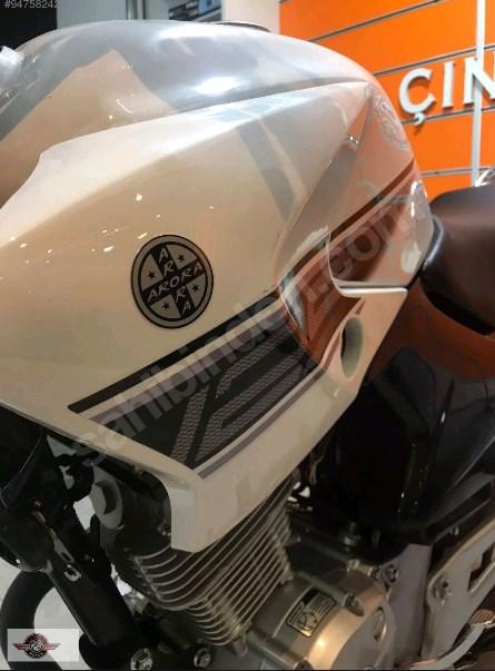 Arora AR 125-48 Yebere 2021 Model Sıfır Kilometre Senetle Motosiklet 5